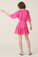 Villaya Shortsleeve Dress - Pink