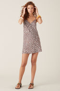 Onari Mini Dress - Leopard