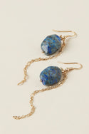 Polu Small Drop Earring - Lapis