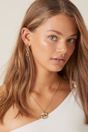 Keone Small Drop Earring - Gold