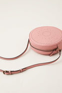 Stamp Cross Body Bag - Dusty Rose