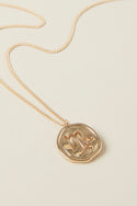 Virgo Pendant - Gold
