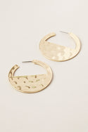 Kyra Small Hoop Earring - Gold