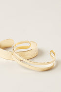 Ruchi Stacking Bangles - Gold