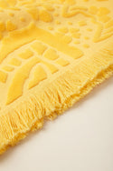 Ailani Beach Towel in Lemon