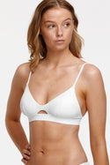 Tigerlily Esther Bra Bikini Top - White