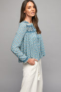 Belize Sophia Soft Jacket - Sky Blue