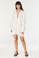 Nicoya Ramira Shirt Dress - Ivory