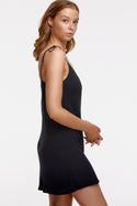 St Lucia Nita Mini Slip Dress - Black