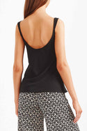 Rena Cami Top - Black