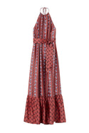Sunil Maxi Dress - Rose