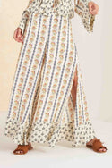 Tangier Wide Leg Pant - Ivory