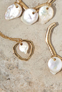 Orla Pearl Necklace - Gold