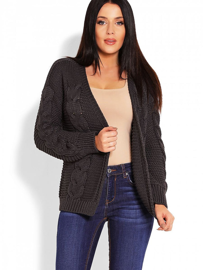 Bomber Cut Cardigan by PeeKaBoo
