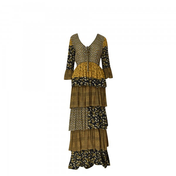 Maxi Dress in Animal Print