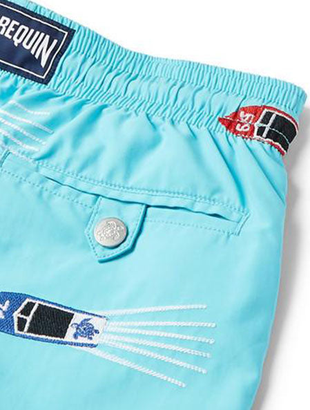 Mistral Embroidered Swim Shorts