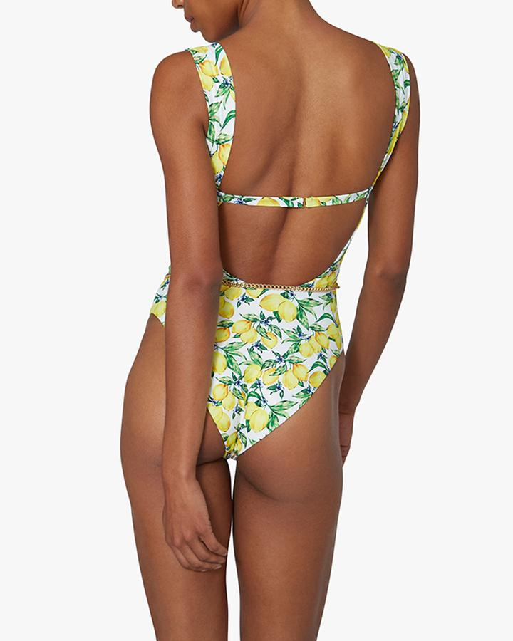 Danielle One Piece in Lemons All Over