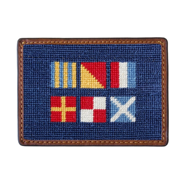 Got Rum Needlepoint Card Wallet