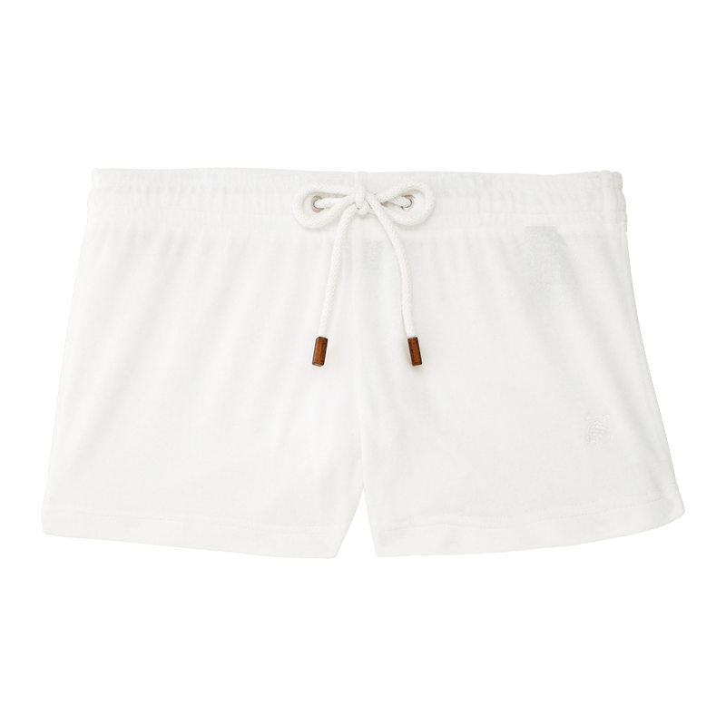 Terry Shorts in White
