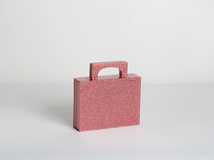 Alexa Bag in Glitter Pink