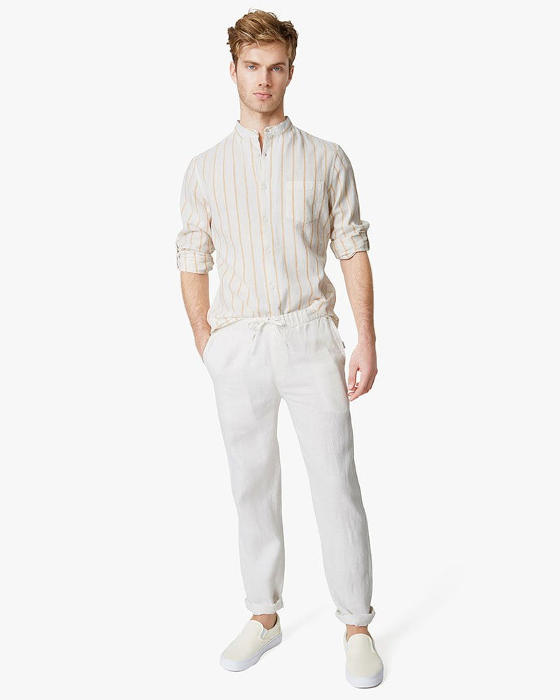 Carter Pants in White