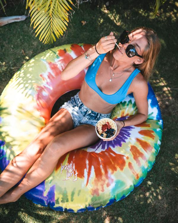 The Tie Dye Float