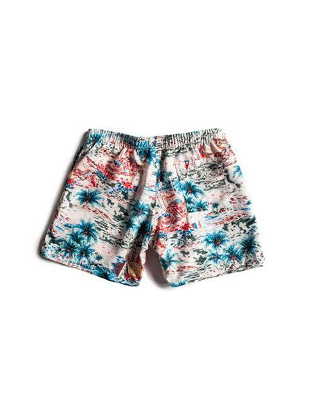 Daytime Hawaii Swim Trunk