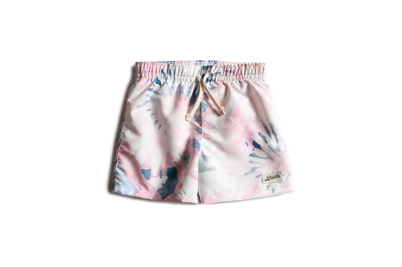 Kids' Acid Tie Dye Swim Trunk