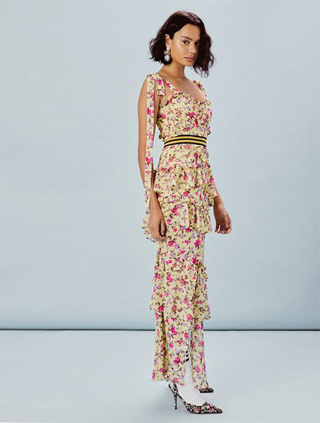 Maison Maxi Dress in Yellow