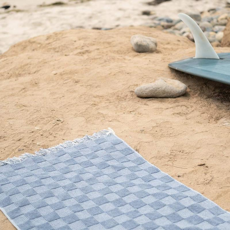 Beach Towel - Recycled Denim