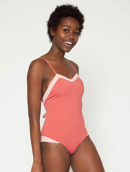 Rosie One Piece in Guava