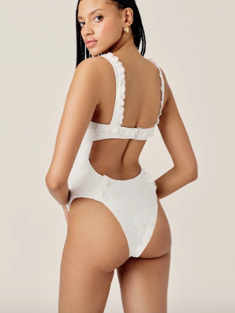 Rowan One Piece in White