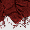 Check Pattern Scarf in Red Buffalo