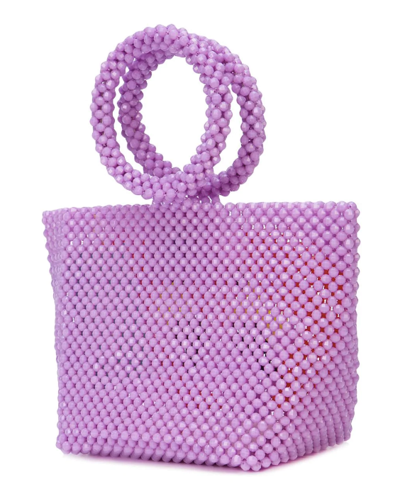 Mini Iris Flamingo Bag in Lilac