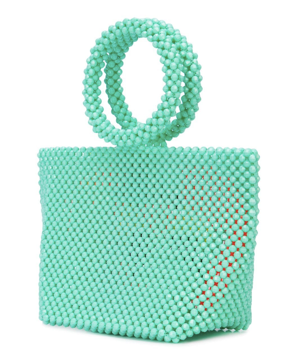 Mini Iris Flamingo Bag in Green