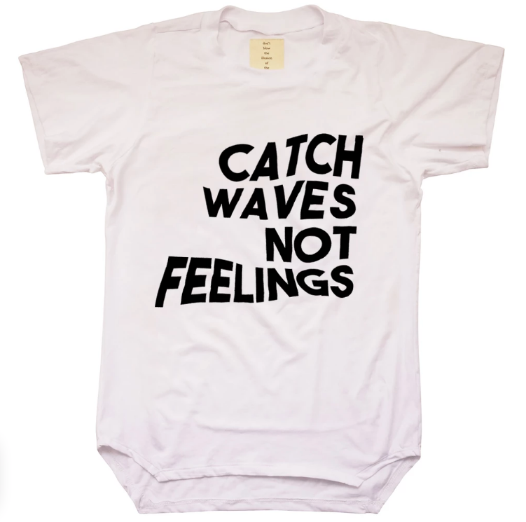 "Unisex Bamboo ""Catch Waves"" Tee"