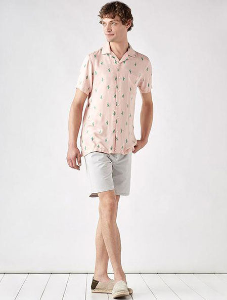 Vacation Shirt in Cactus Evening Sand