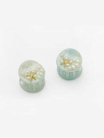 CASA CLARA 'LARGO' Earring in Stone Grey