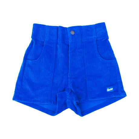 Corduroy Shorts in Blue