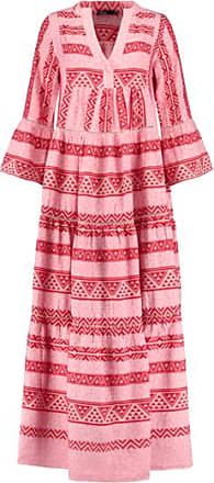 Afroditi Maxi Dress in Pink/Red