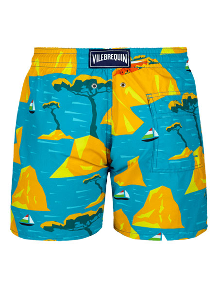 Moorea 9th August Capri Swim Trunks