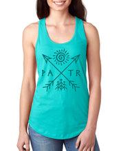 Load image into Gallery viewer, PATR - Petroglyph - Women's Racerback Tank Top