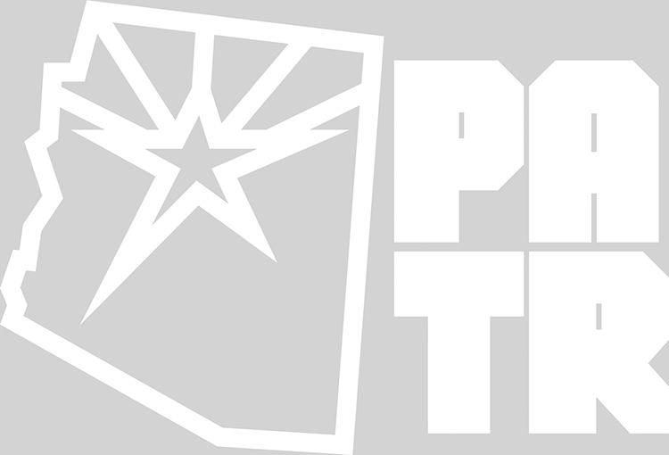 PATR - AZ State & Star sticker