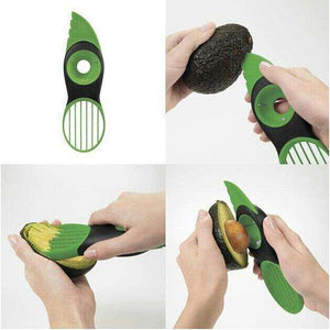 dreamoffer:3-IN-1 Avocado Slicer:Avocado Peeler