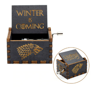 dreamoffer:Game of Thrones (TM) Antique carved music box:MUSIC BOX