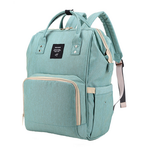 dreamoffer:Baby diaper bag Large Capacity Waterproof canvas:Backpacks
