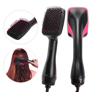 dreamoffer:2 in 1 Ionic Conditioning Hair Styler Comb Brush:Hair Dryer tool