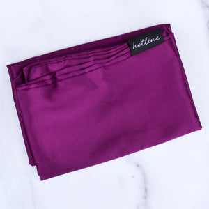 Satin Pillowcase (Plum)