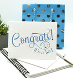 Congrats! It's a Boy! Greeting Card