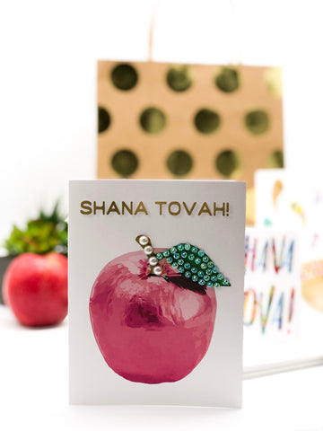 Shana Tova! Apple Greeting Card
